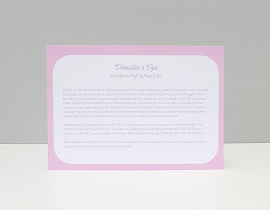 Trimester 3 Tips card