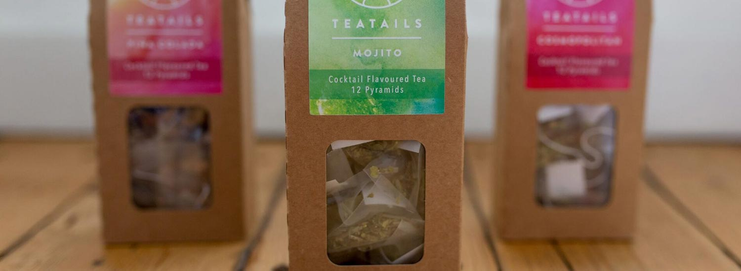 Teatails, the cocktail flavoured tea company