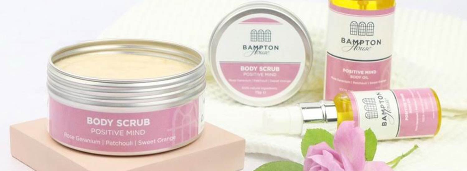 Bampton House, 100% natural spa products for home